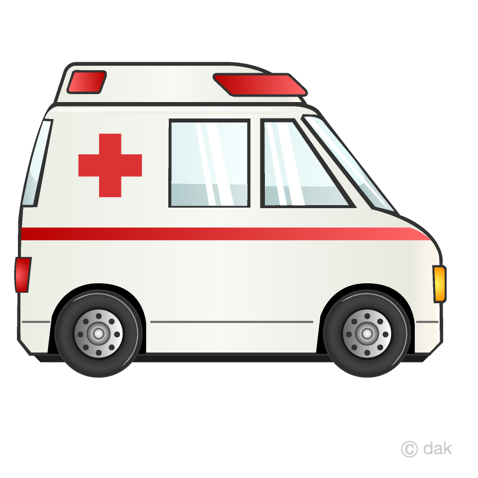 image library library Free picture illustoon . Ambulance clipart.