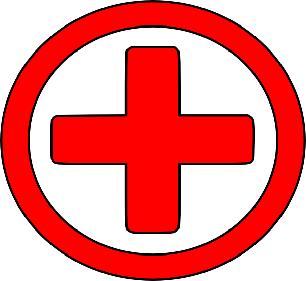 vector free download Large Red Cross Clip Art at Clker