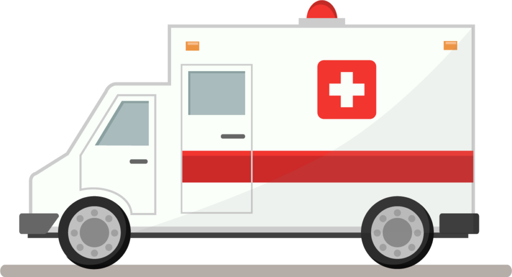 vector library library Ambulance clipart cute.  cars images free