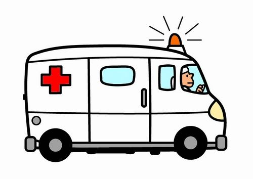 download Transparent free for . Ambulance clipart cute.