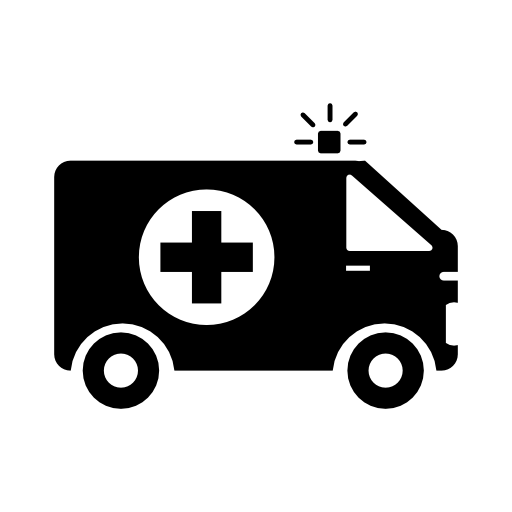 vector free Ambulance vector. Drawing free icons and