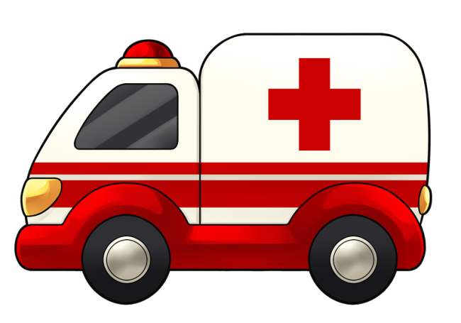 clipart transparent Image of Ambulance Clipart