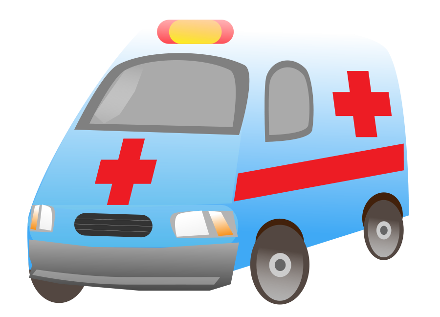 banner black and white download Image of Ambulance Clipart
