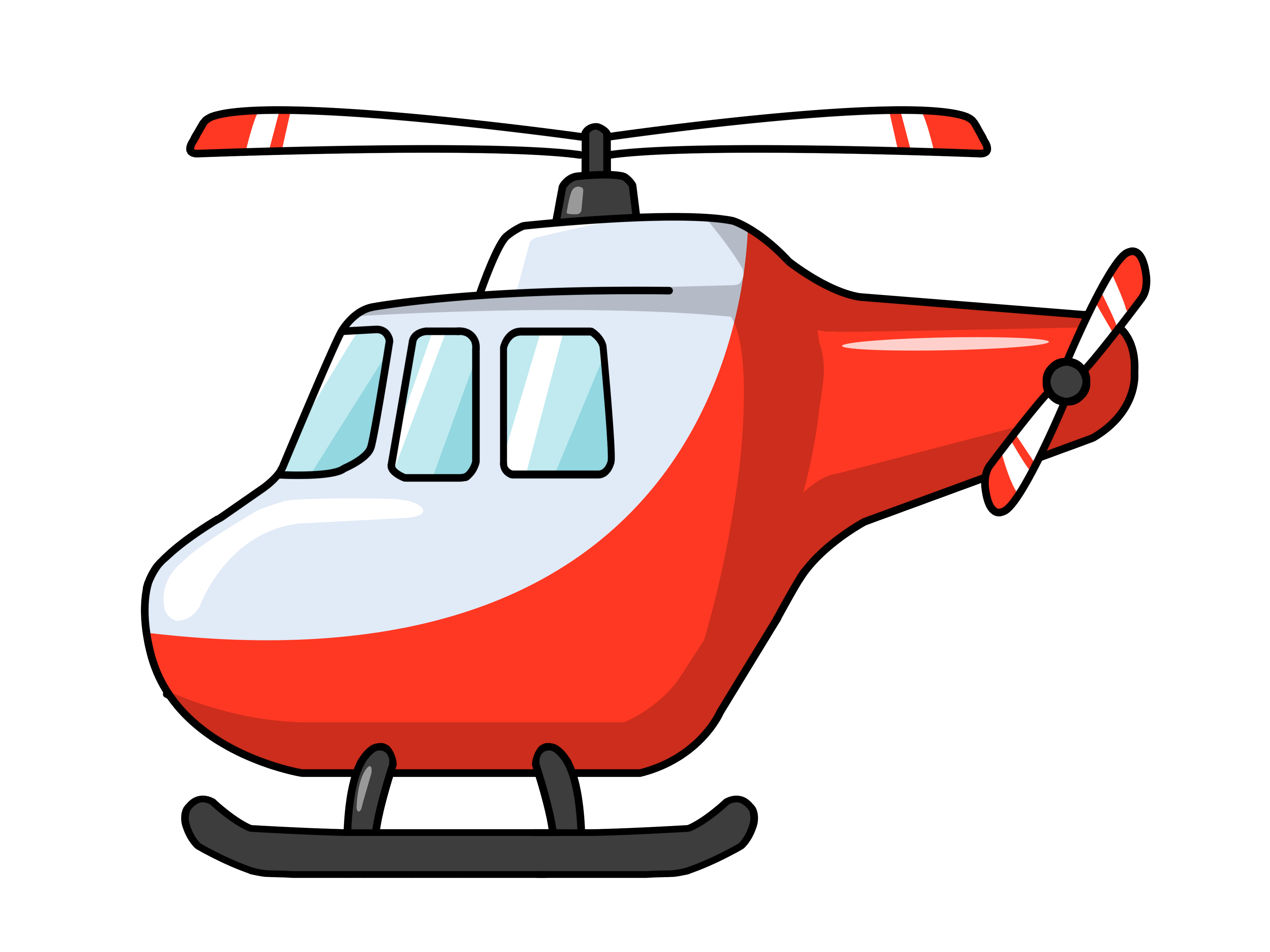 banner Clip art on panda. Helicopter clipart
