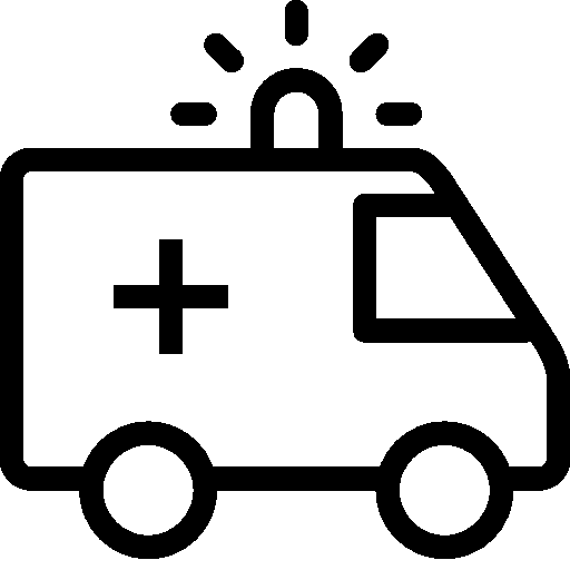 stock Healthcare Ambulance Icon