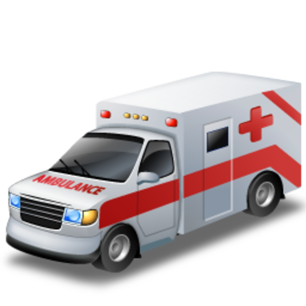 banner black and white Icons png free and. Ambulance vector