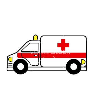 image free library Template baby quilts . Ambulance vector