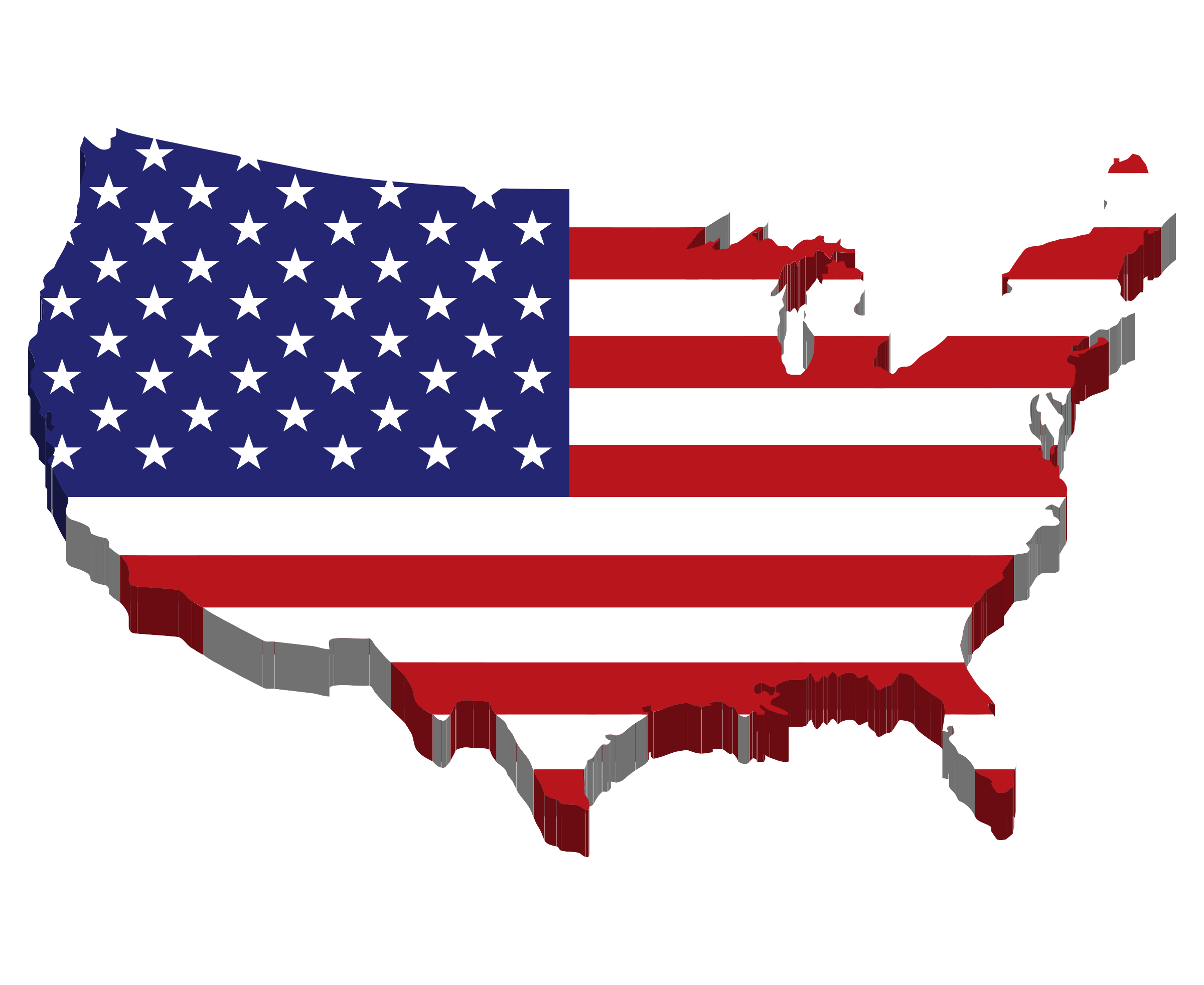 png royalty free America flag big image. Map clipart map united states.