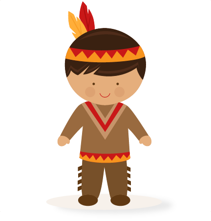 png freeuse library Thanksgiving boy native american. India clipart tribal.