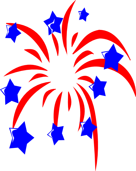 vector black and white Patriotic clipart. America firework pencil and