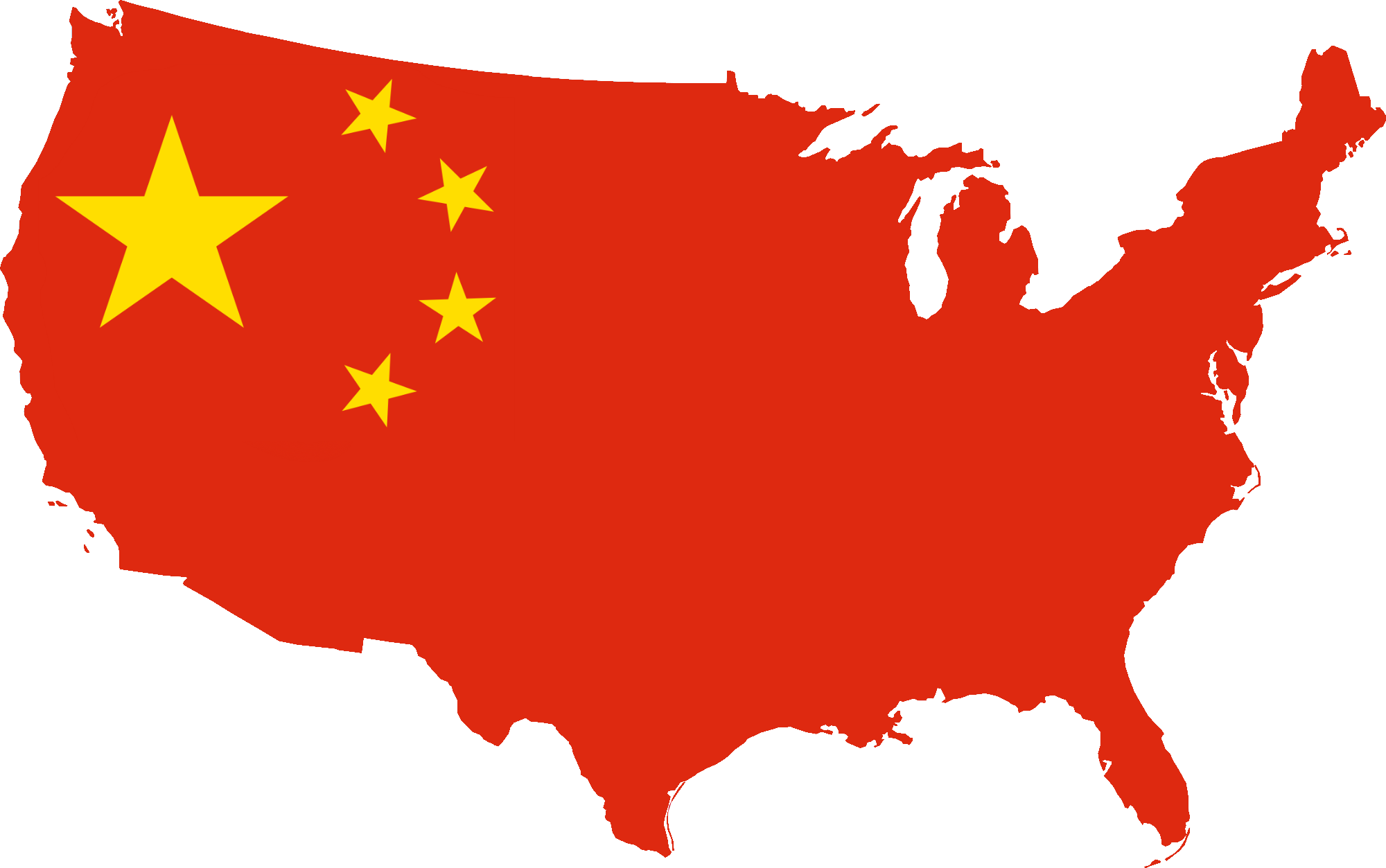 svg library United states silhouette at. China vector map