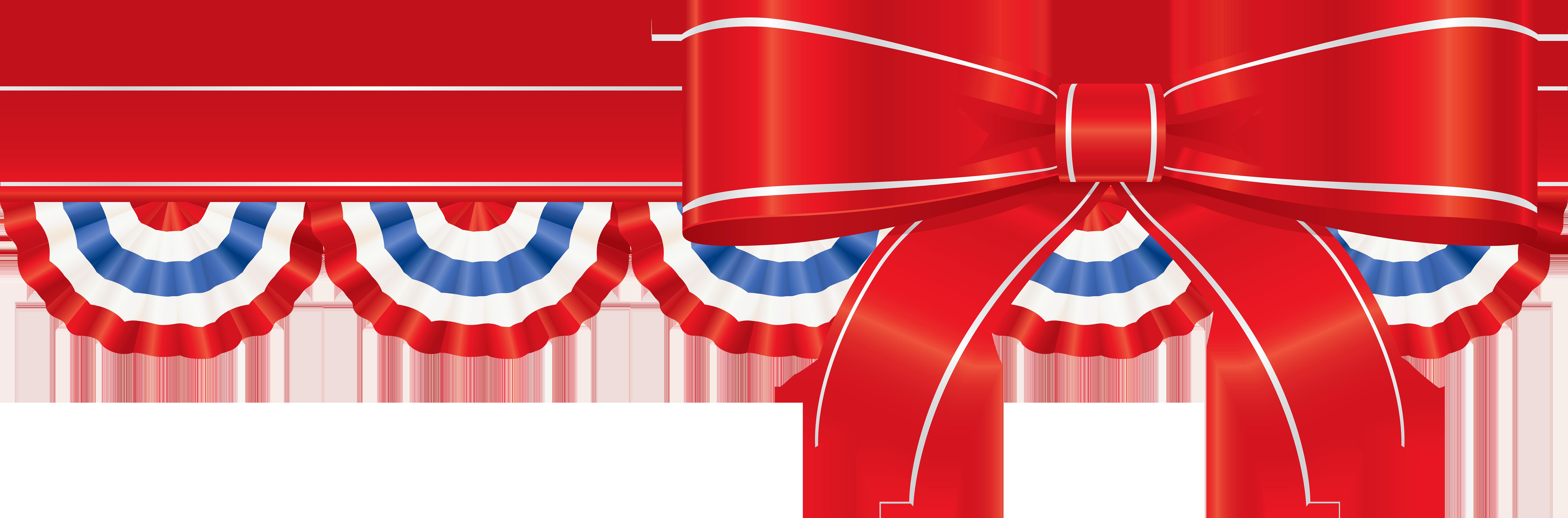 image transparent stock America clipart. Ribbon decor png clip.