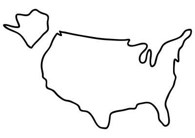 svg transparent Beautifully designed state symbol. Usa drawing line