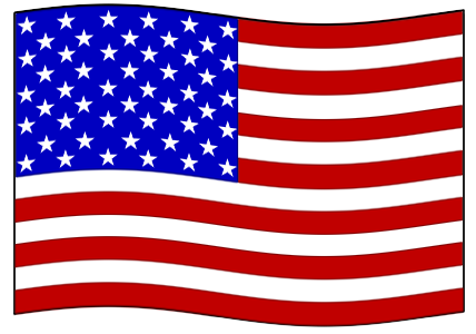 svg royalty free download Small American Flag Clipart