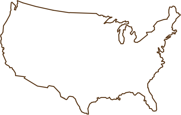 black and white stock  america png for. Usa transparent outline