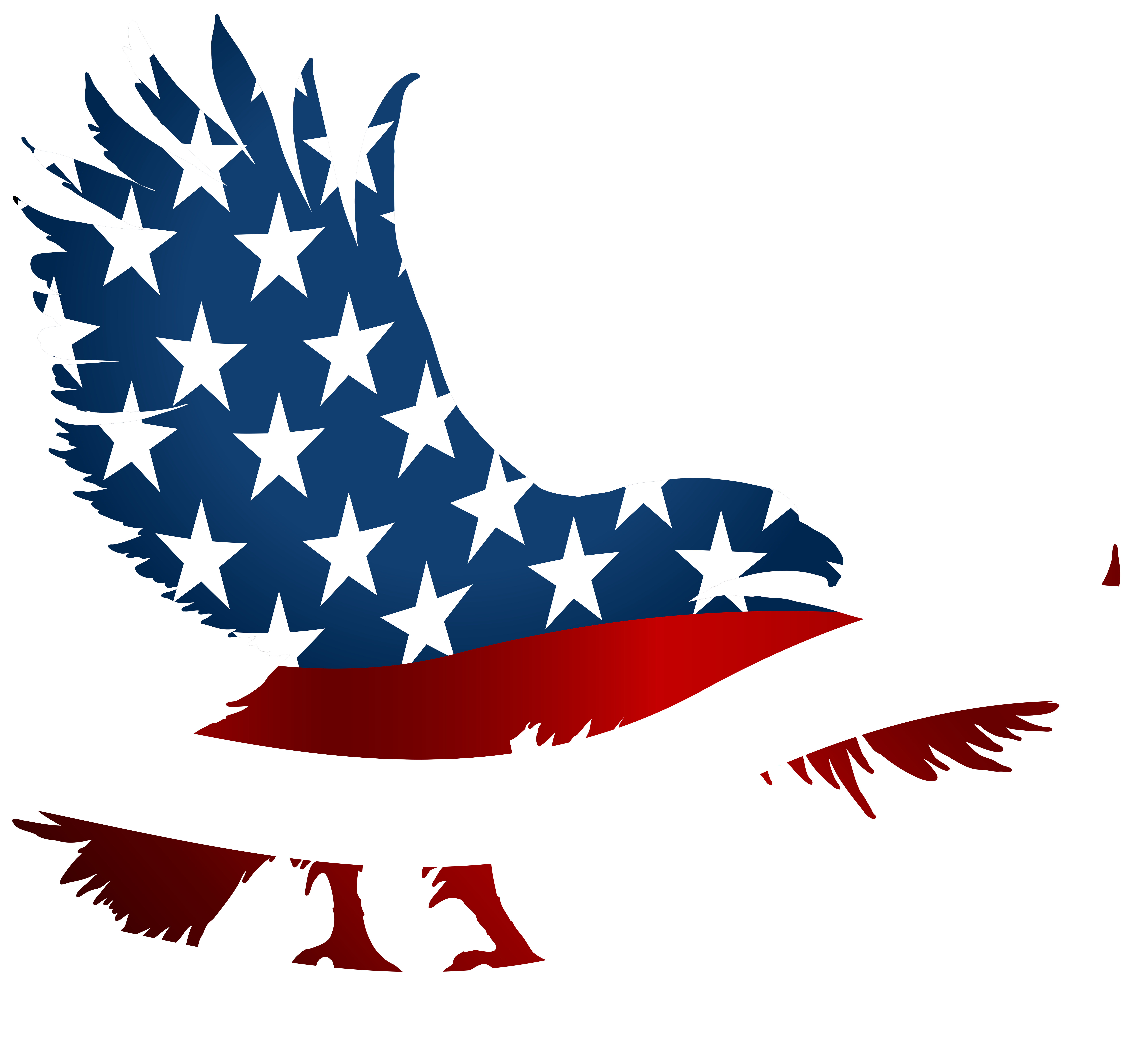 svg royalty free stock Eagle flag transparent png. American clipart