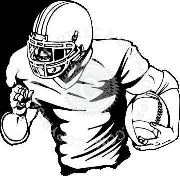 clipart download Player running gaver pinterest. Football coach clipart