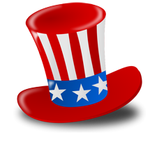 clipart transparent Show your pride with. American clipart