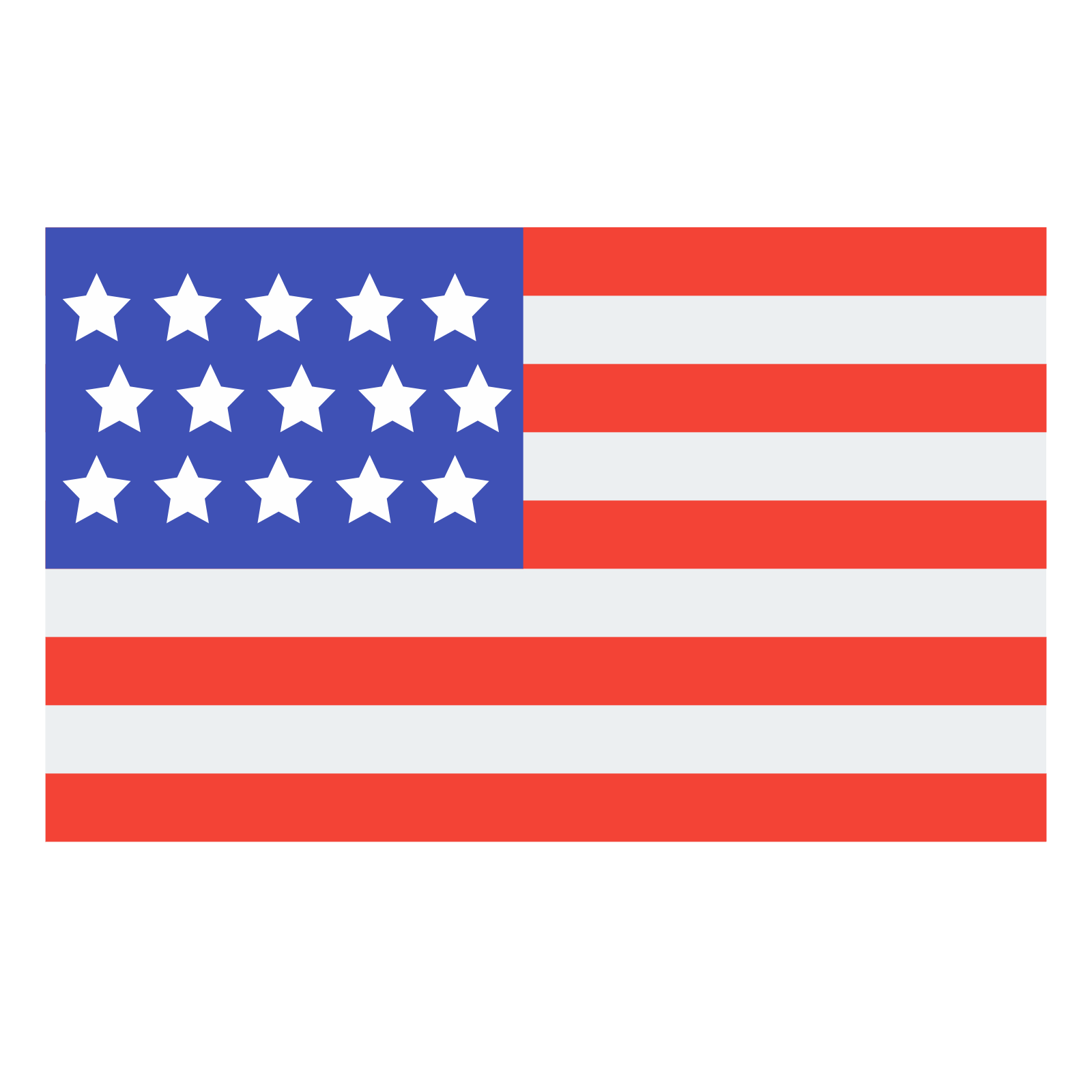 jpg free library Usa icon free download. Flags vector simple