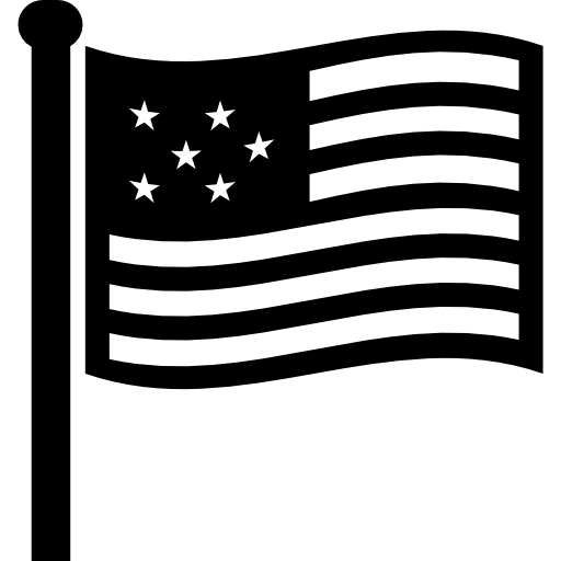 clip art library download American flag black and white clipart. Usa free signs icons