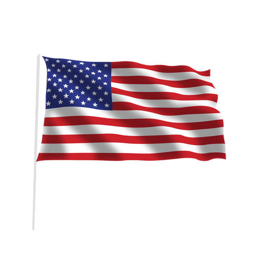 clip art library stock Waving american flag