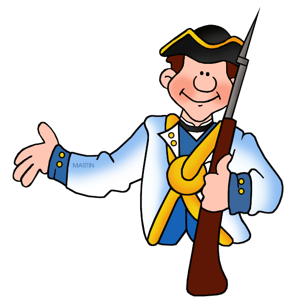 picture freeuse download American Revolution Clipart at GetDrawings