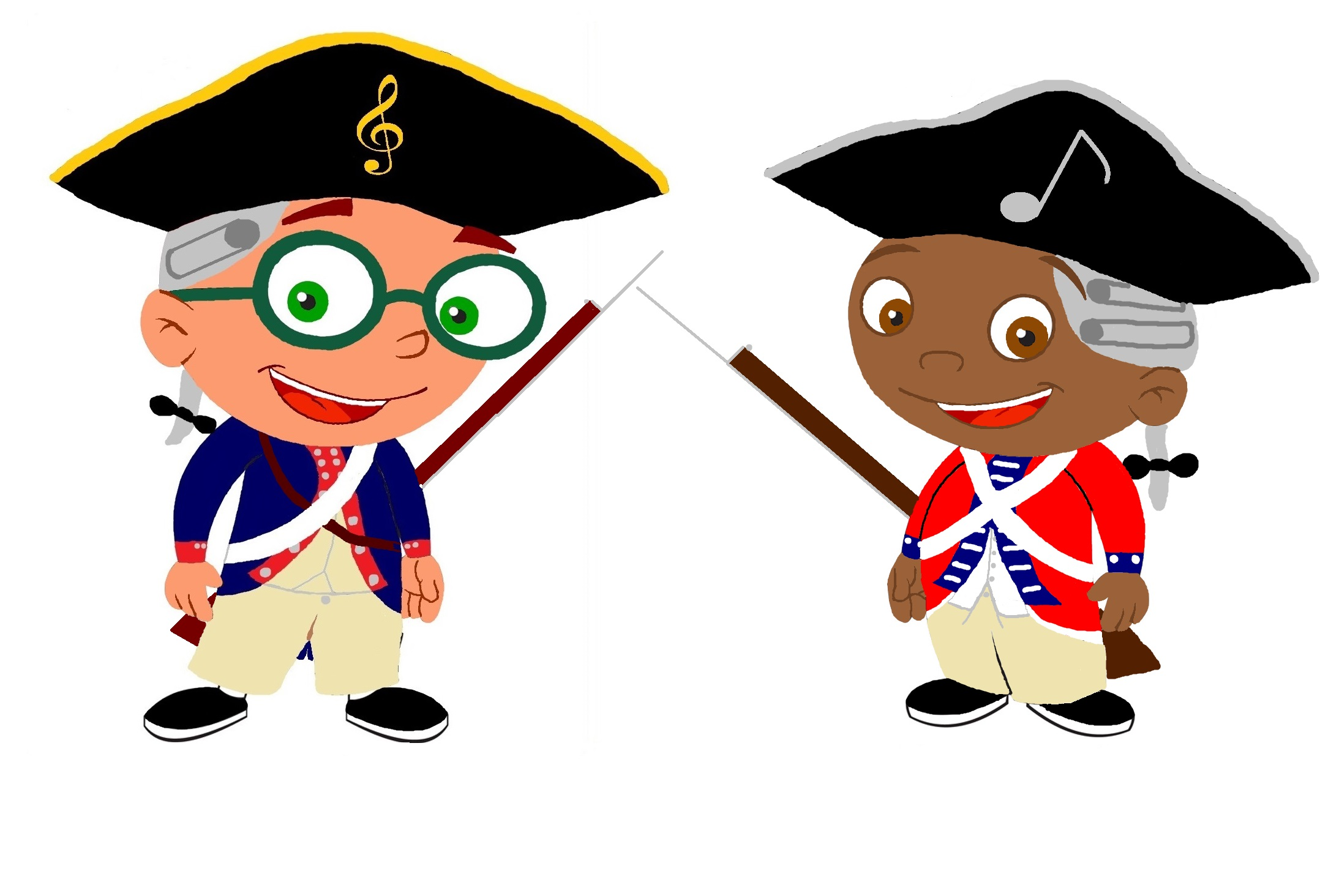 jpg transparent library American revolution clipart. Free images of download