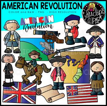 clipart Clip art set educlips. American revolution clipart