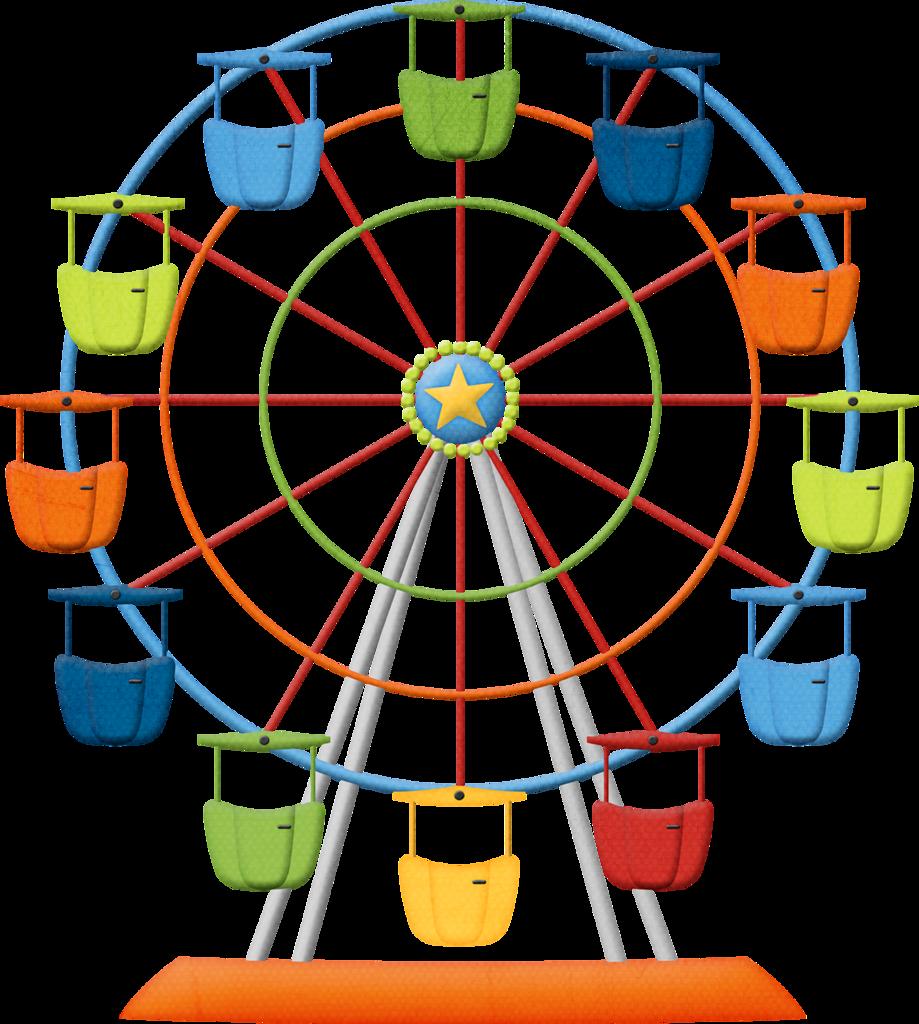 svg freeuse Ferris wheel clipart free. Hroselli amuseme ferriswheel png.