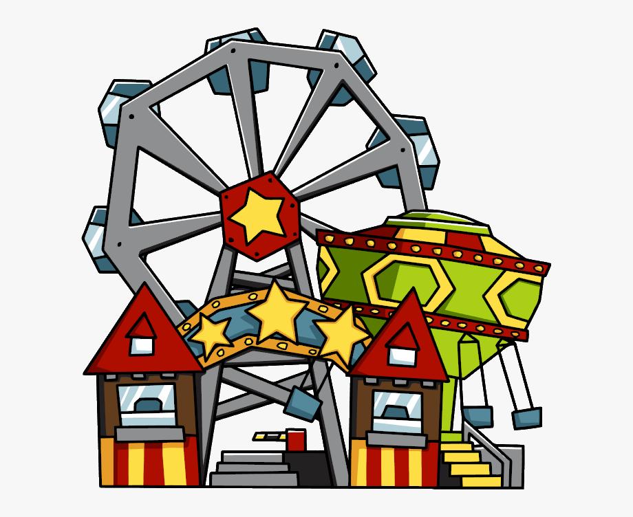 vector transparent download Park transparent background . Amusement clipart parke.