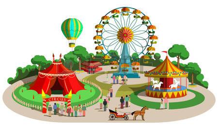 picture freeuse stock Amusement clipart parke.  free park cliparting.