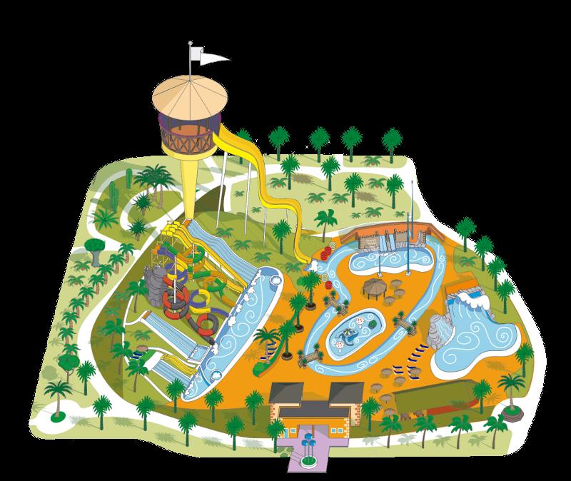 jpg royalty free library Amusement clipart parke. Acua water park parque.