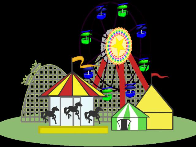 picture royalty free download Amusement clipart parke. Park free on dumielauxepices.
