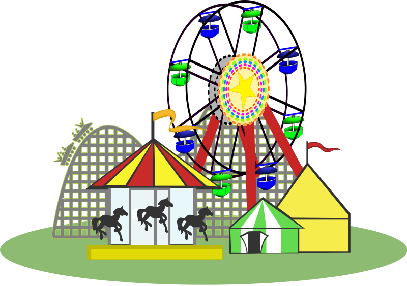 png black and white download Free Amusement Rides Cliparts