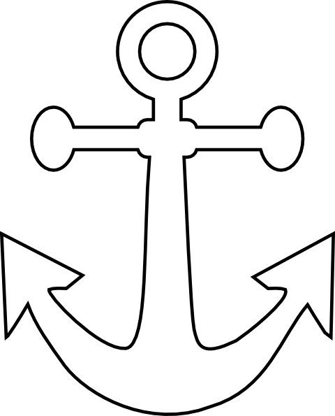 clipart transparent White anchor clip art. Vector anchors