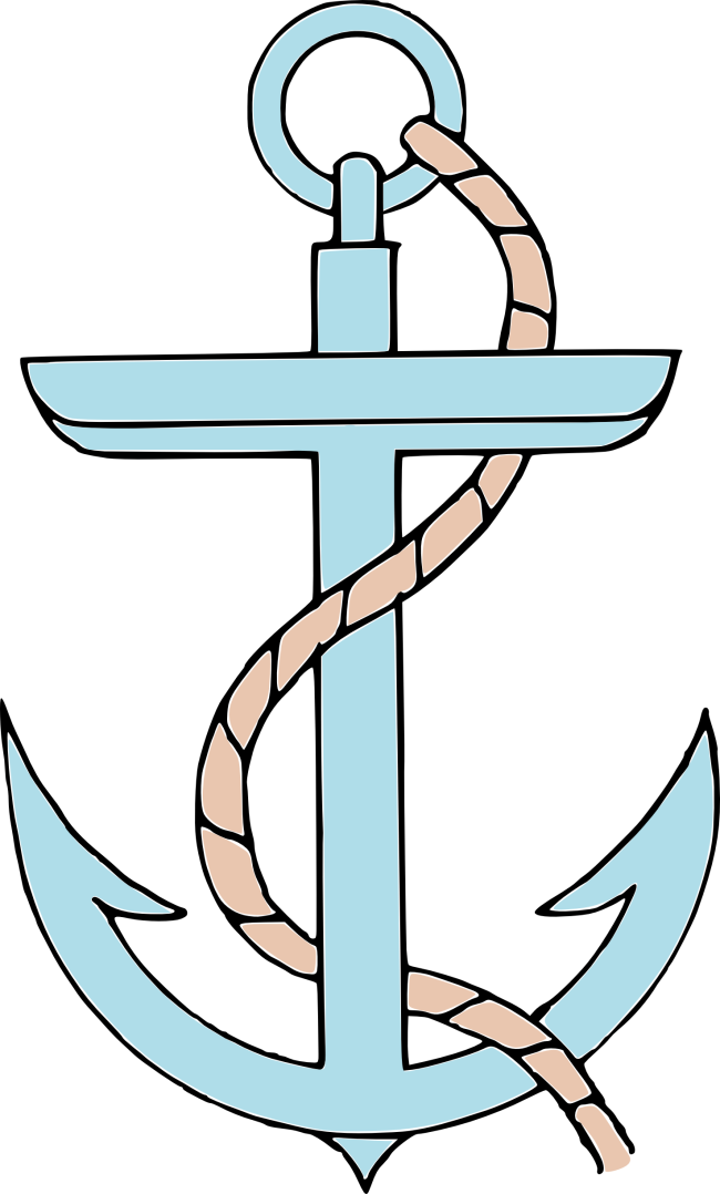 graphic stock Image of Anchor Clipart
