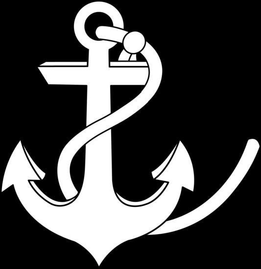jpg royalty free Anchor Line Art