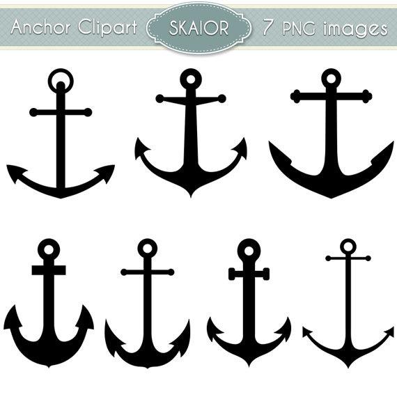 freeuse stock Anchor clipart clip nautical. Vector anchors art