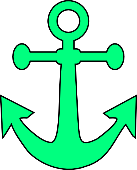 graphic royalty free stock Mint clipart anchor
