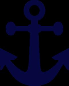 jpg library library Anchor Navy Blue Clip Art at Clker