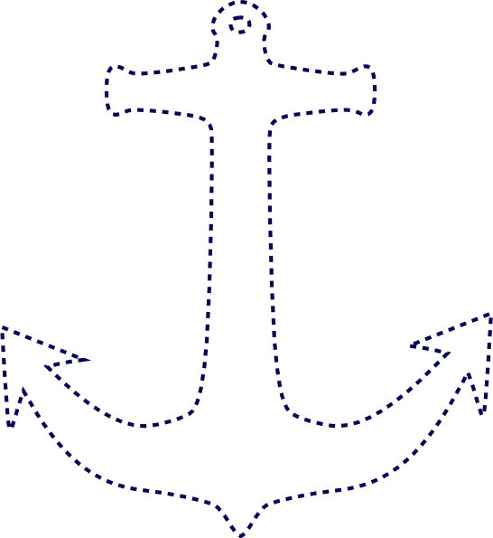 vector download anchor outline image