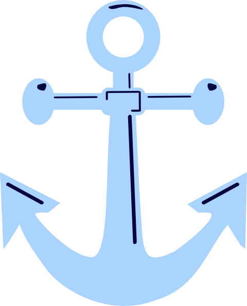 picture black and white Vector anchors. Unfinished anchor clip art