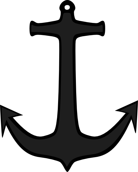 image download Anchor clipart black and. Vector anchors traditional