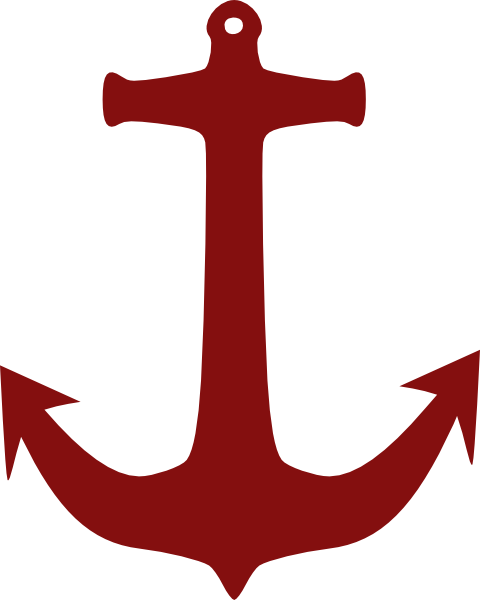 graphic free Red Anchor Clip Art at Clker