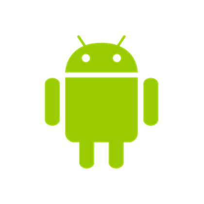 svg black and white stock android