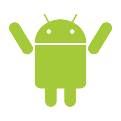 clip black and white library Android Robot Winner transparent PNG