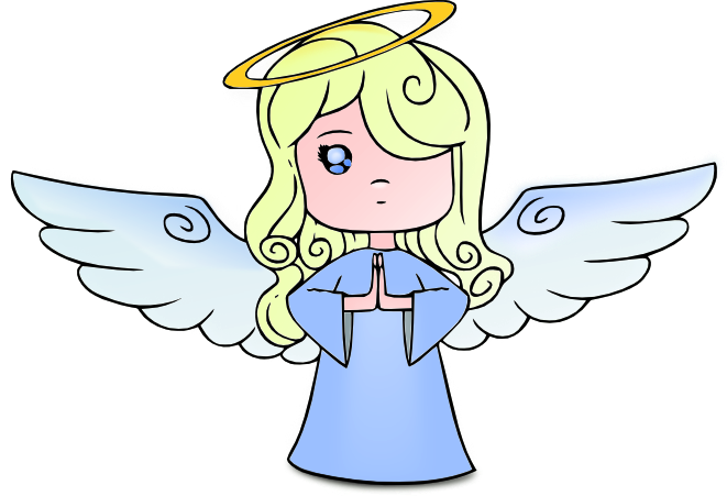transparent stock Angels clipart. Angel free graphics of