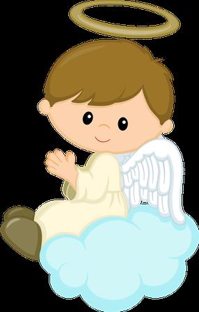 vector freeuse download Fadas anjos gnomos e. Angel clipart