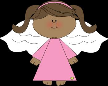 jpg freeuse download Angel clipart. Black clip art image.