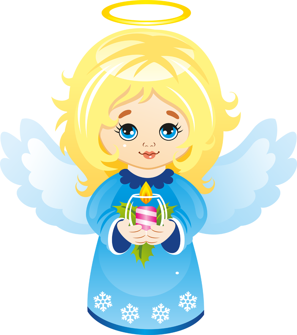 freeuse Cute clip art christmas. Angel clipart african american.